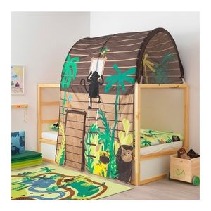 NEW Ikea Kura Monkey Bed Tent Canopy Jungle Tree